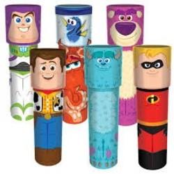 Disney Pixar Tin Kaleidoscopes