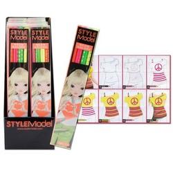 Style Model Neon Pencils