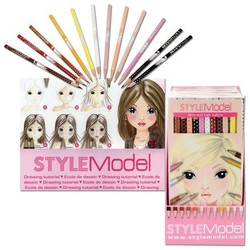 Style Model Neutral Colored Pencil Set