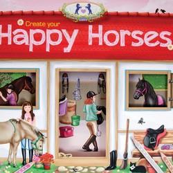 Horse Dreams Happy Horses Activity Book