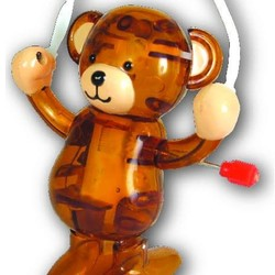 Jump Rope Bear, Teddy