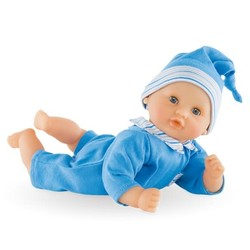 "Mon Premier Bebe Calin Blue - 12"" Doll"