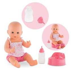 "Emma Drink-And-Wet Bath Baby -  14"" Doll"