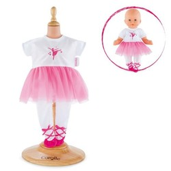 "12"" Ballerina Fuschia Suit - For 12"" Dolls"