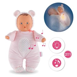 "Babibear Nightlight Pink -  12"" Doll"