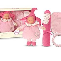 "Birth Set with Pink Elf - 9.5"" Doll"
