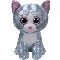 Beanie Boos - Flippables - Whimsy Blue Cat - Large 16""