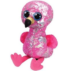 """Beanie Boos - Flippables - Pinky Flamingo - Large 16"""""""