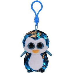 "Beanie Boos - Flippables - Payton Blue Penguin - Clips 5"""