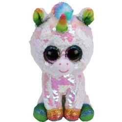 """Beanie Boos - Flippables - Pixy white Unicorn - Small 6"""""""