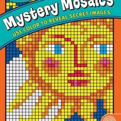 Mystery Mosaics - Book 1