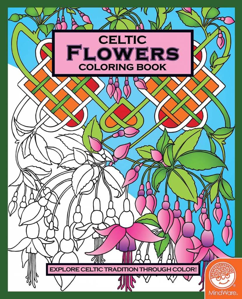 MindWare Celtic Coloring Book - Flowers