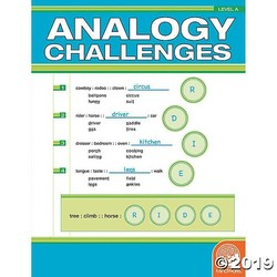 Analogy Challenges - Level A