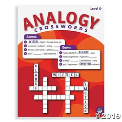 Analogy Crosswords - Level D