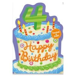 Age 4: Vanilla Cake Scratch & Sniff Card