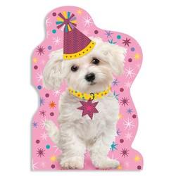 Birthday Cards - Happy Puppy Foil Card