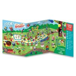Birthday Cards - Seek and Find Tri-Fold Card