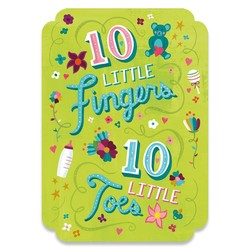 Baby Cards - 10 Fingers & Toes Card