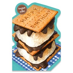 Birthday Cards - S'more Scratch & Sniff