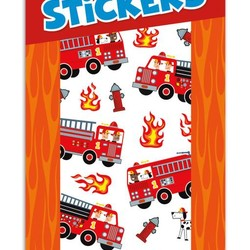 Scratch & Sniff Sticker Packs - Cherry Fire Trucks