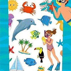 Sticker Packs - Island Life