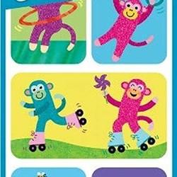 Lenticular Sticker Packs - Silly Monkey