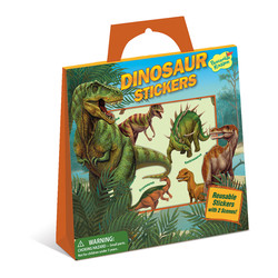 Reusable Sticker Totes - Dinosaur