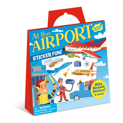 Reusable Sticker Totes - At the Airport