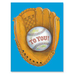 Baseball & Glove Enclosure