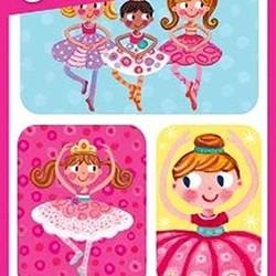 Lenticular Sticker Packs - Ballerinas