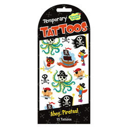 Temporary Tattoos -  Ahoy, Pirates