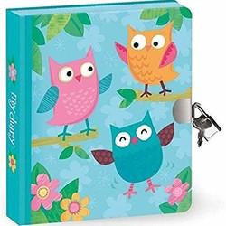 Lock & Key Diaries - Owls