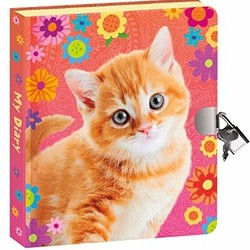 Lock & Key Diaries - Orange Kitty