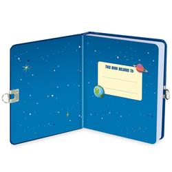 Deep Space Glow in the Dark Diary