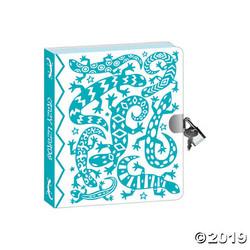 Lock & Key Diaries - Lizard Foil Coloring