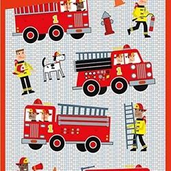 Foil Sticker Packs - Firetrucks