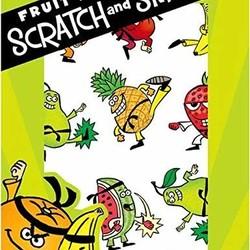 Scratch & Sniff Sticker Packs - Fruit Punch