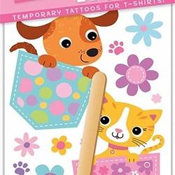 T-Shirt Tattoos - Pocket Pals Kitty & Puppy