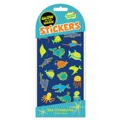 Glow in the Dark Sticker Packs - Sea Creatures