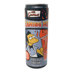 Simpsons - Flaming Moe Energy Drink - 12 oz.