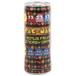PAC-MAN Bonus Fruit Energy Drink - 12 oz.