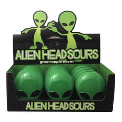 Alien Head Sours Tin