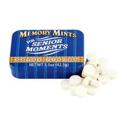 Memory Mints for Senior Moments Tin