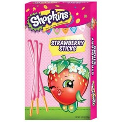 Shopkins Strawberry Coated Sticks