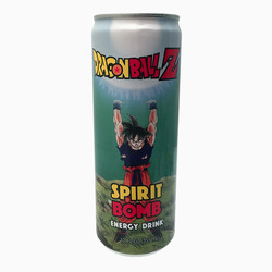 Dragon Ball Z Spirit Bomb Energy Drink - 12 oz.