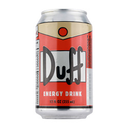 Simpsons - Duff Energy Drink - 12 oz.
