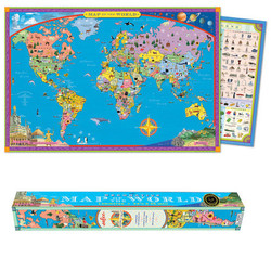 World Map Paper (Wall Poster)