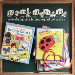 Friendliest Bug Lacing Cards