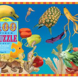 Sea Food 100 Piece Puzzle
