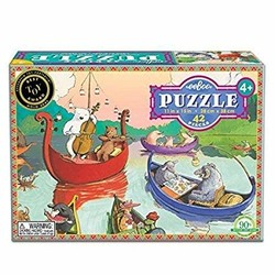 Party on the Lake 42 Piece Puzzle